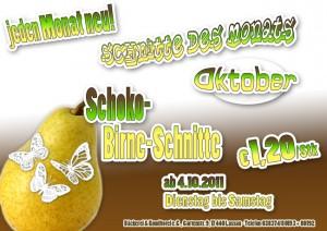 Schoko, Banane, Schnitt, Angebot, Kuchen