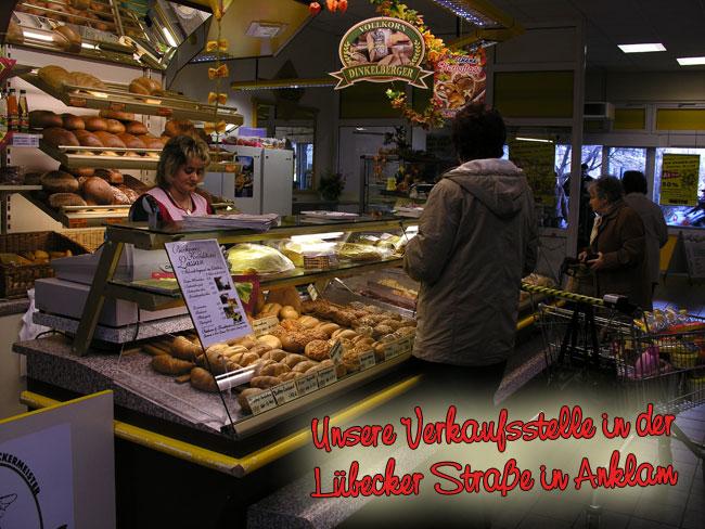 Bäckerei Konditorei Lassan Fiiliale Anklam