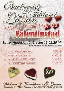 Valentinstag, Torten, Angebot