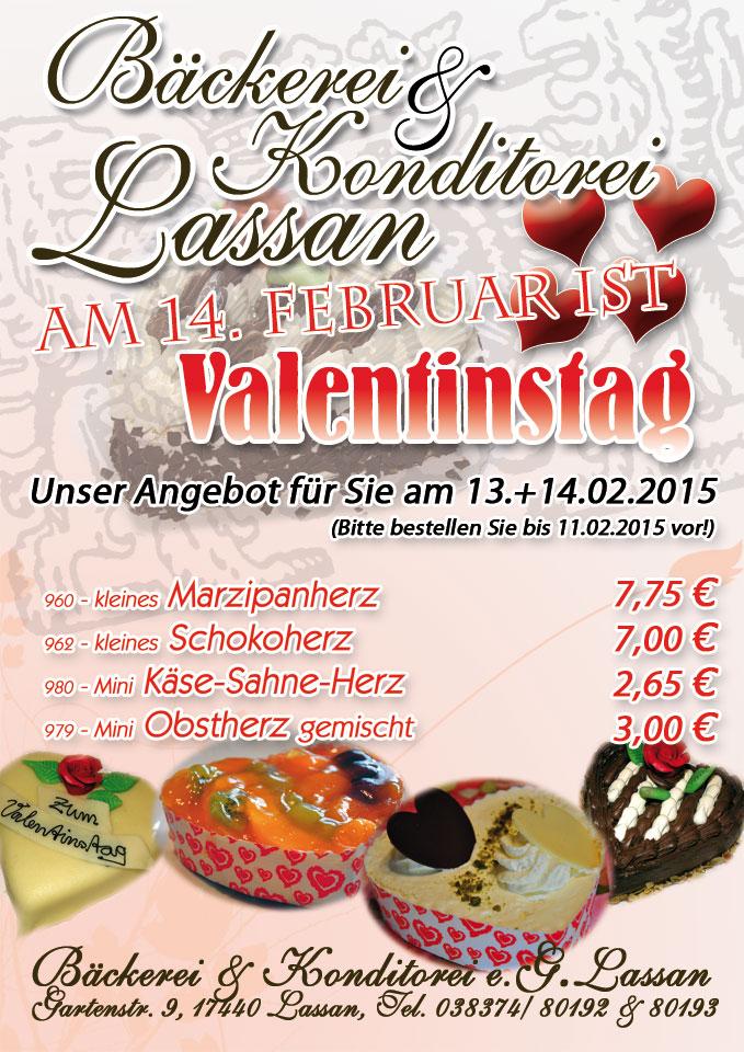 Torten zum Valentinstag – Angebot 2015