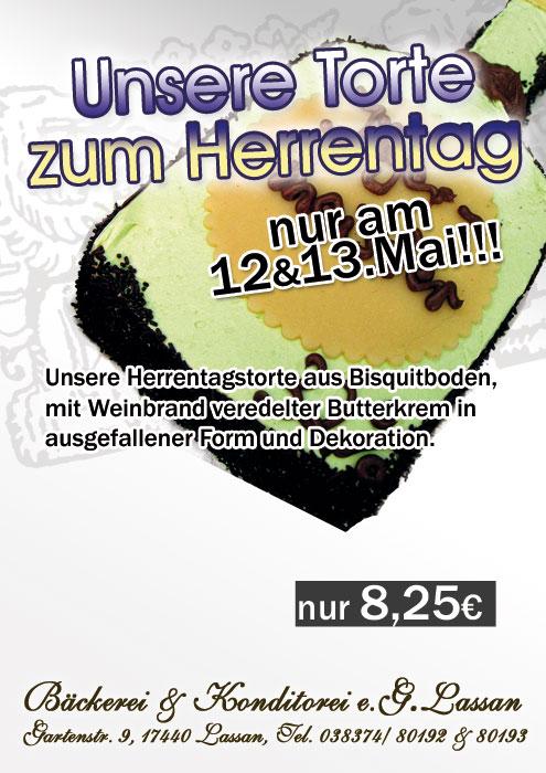 Herrentag 2015 – Tortenangebot