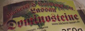 Bäckerei Konditorei Lassan Dominosteine Advent Weihnachten Weihnachtsgebäck
