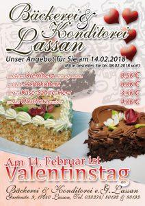 Valentinstag 2018 Angebot Geschenk Präsent Torten Dessert